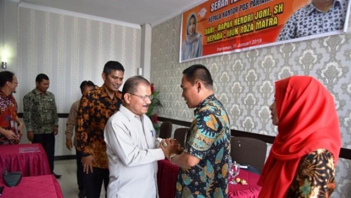 Bupati Ali Mukhni Apresiasi Layanan Pt Pos Indonesia
